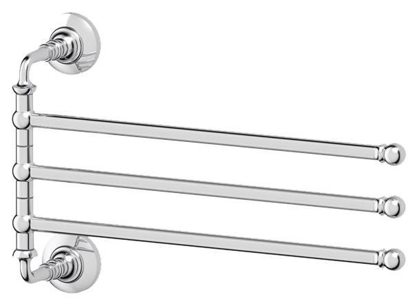 Полотенцедержатель 3SC Stilmar STI 011 поворотный тройной 35 см, хром