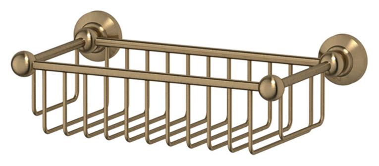 Полочка-решетка 3SC Stilmar STI 507 31 см, античная бронза
