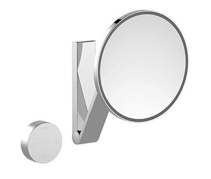 Зеркало Keuco iLook_move 17612 019002 косметическое, настенное, круглое, с сенсорной панелью