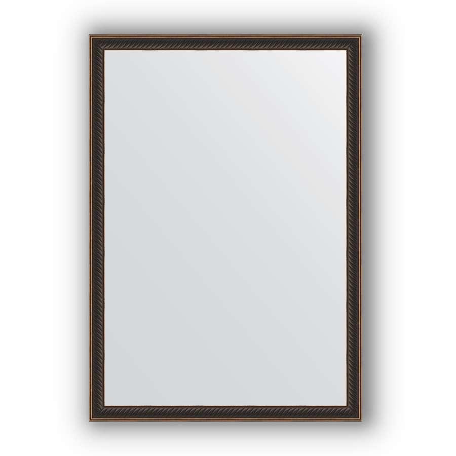 Зеркало в багетной раме Evoform Definite BY 0624 48 x 68 см, витой махагон