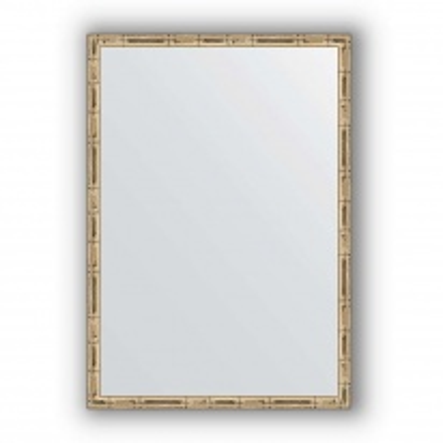 Зеркало в багетной раме Evoform Definite BY 0625 47 x 67 см, серебряный бамбук