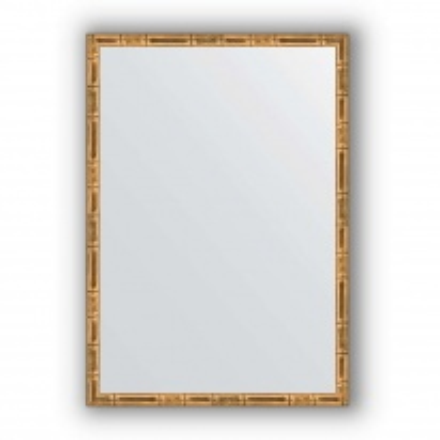 Зеркало в багетной раме Evoform Definite BY 0626 47 x 67 см, золотой бамбук