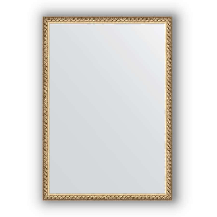 Зеркало в багетной раме Evoform Definite BY 0634 48 x 68см, витая латунь