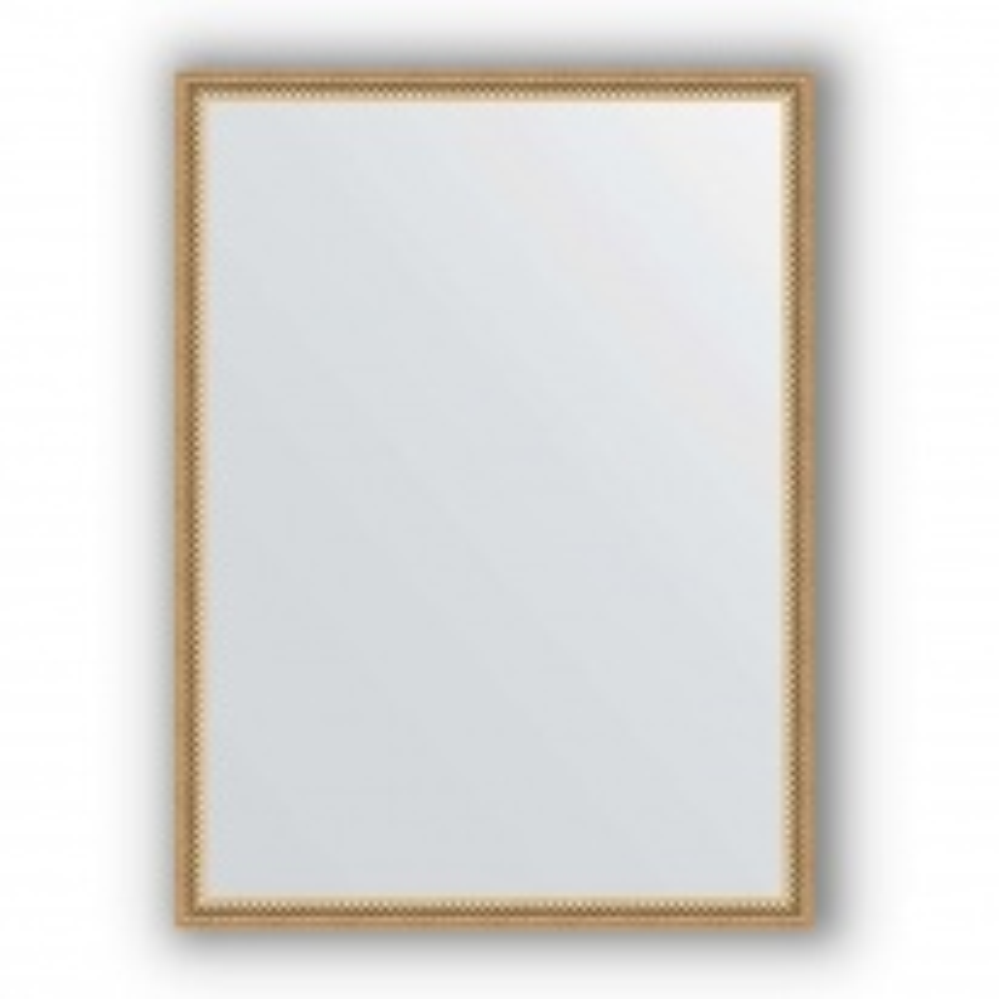 Зеркало в багетной раме Evoform Definite BY 0640 58 x 78см, витое золото