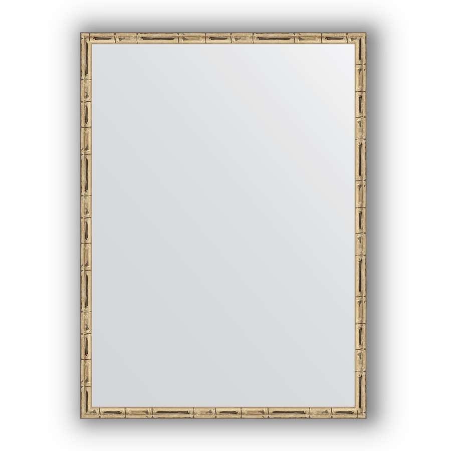 Зеркало в багетной раме Evoform Definite BY 0642 57 x 77см, серебряный бамбук