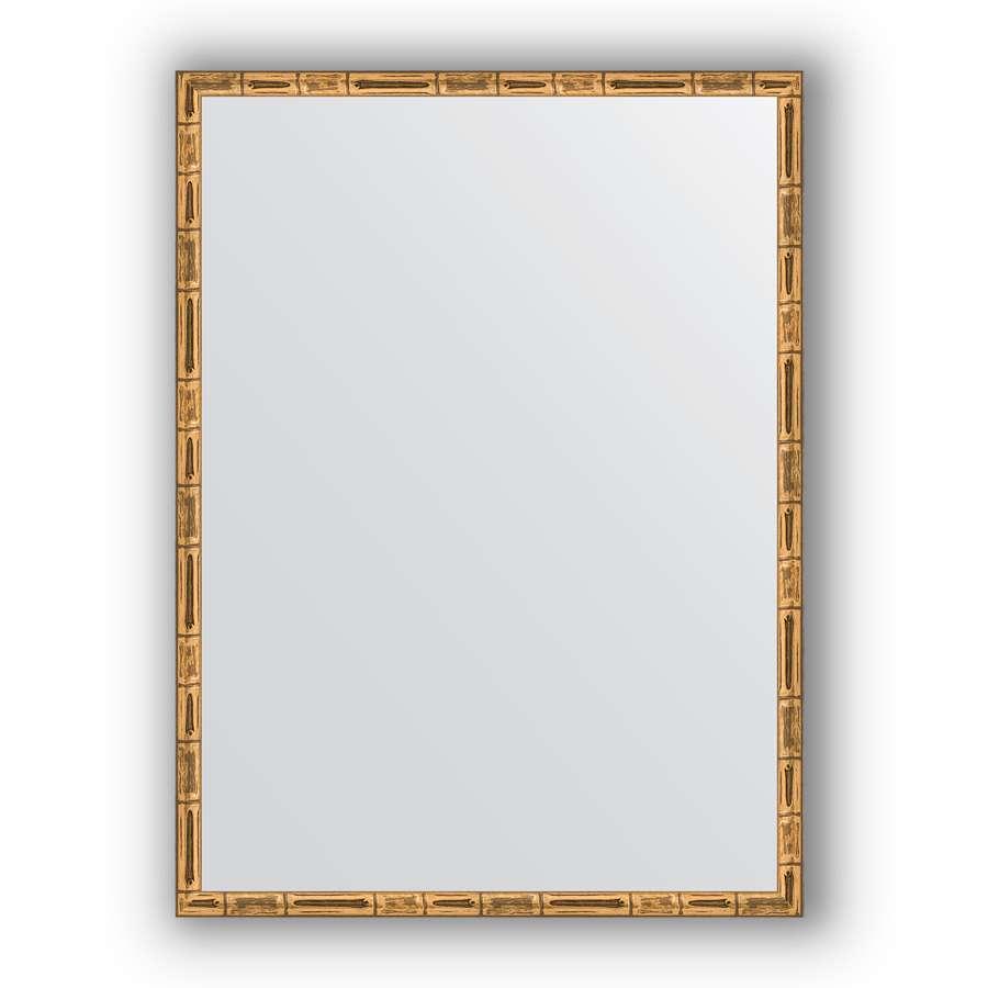 Зеркало в багетной раме Evoform Definite BY 0643 57 x 77см, золотой бамбук