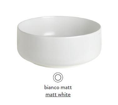 Раковина ArtCeram Cognac Countertop COL001 05; 00, накладная, цвет - белый матовый, 42 х 42 х 16 см