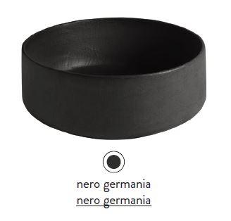 Раковина ArtCeram Cognac Countertop COL001 21; 00, накладная, цвет - nero germania, 42 х 42 х 16 см