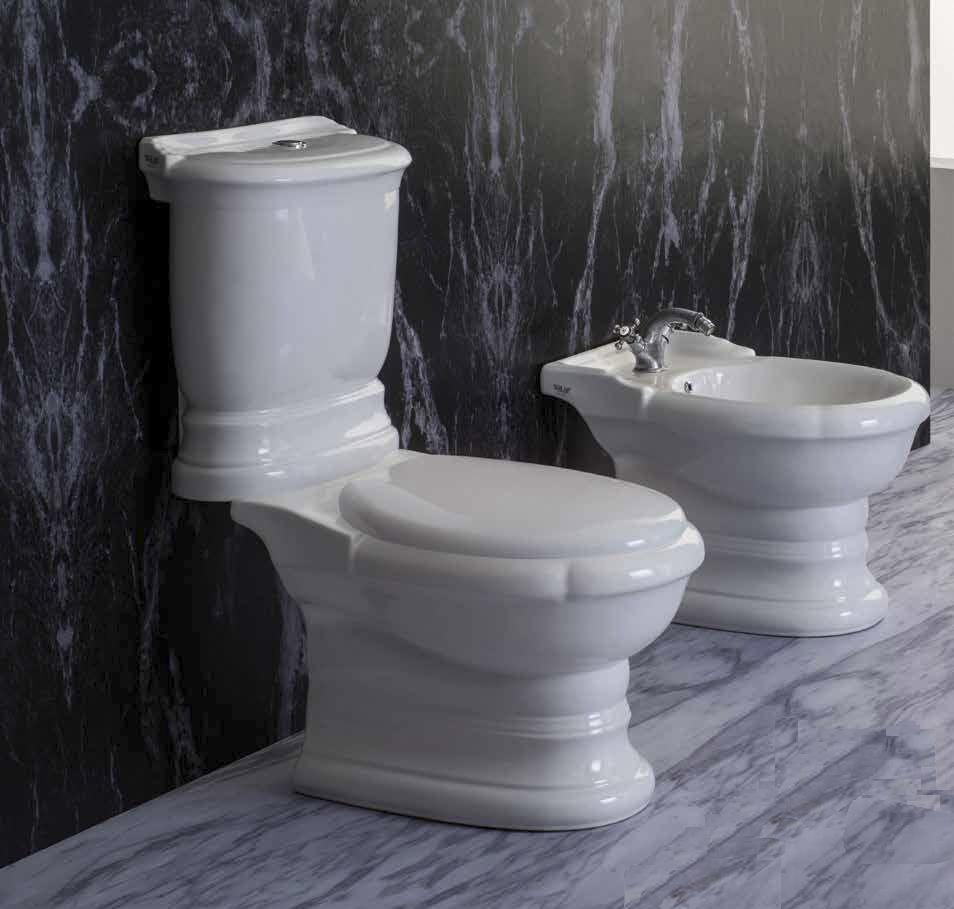 Унитаз Ceramica Ala Excelsior 13MBS/P + 13CM+MO4C напольный с бачком, с крышкой-сиденьем Soft Close