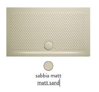 Поддон ArtCeram Texture 90 х 70 х 5,5 см, PDR017 31; 00, прямоугольный, цвет - sabbia matt (бежевый)
