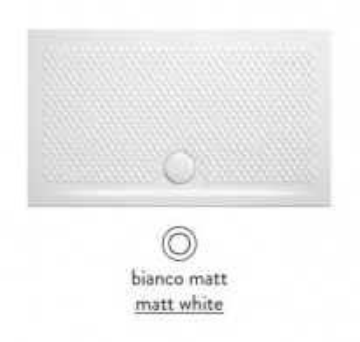 Поддон ArtCeram Texture 100 х 70 х 5,5 см, PDR018 05; 00, прямоугольный, цвет - белый матовый