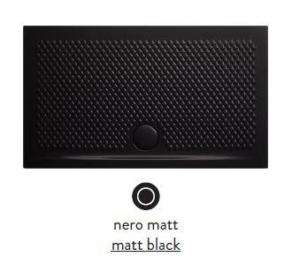 Поддон ArtCeram Texture 100 х 70 х 5,5 см, PDR018 17; 00, прямоугольный, цвет - черный матовый