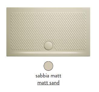 Поддон ArtCeram Texture 100 х 70 х 5,5 см, PDR018 31; 00, прямоугольный, цвет - sabbia matt (бежевый)