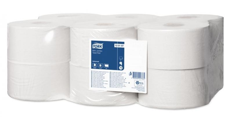 Туалетная бумага Tork Universal 120197 T2, блок: 12 рулонов