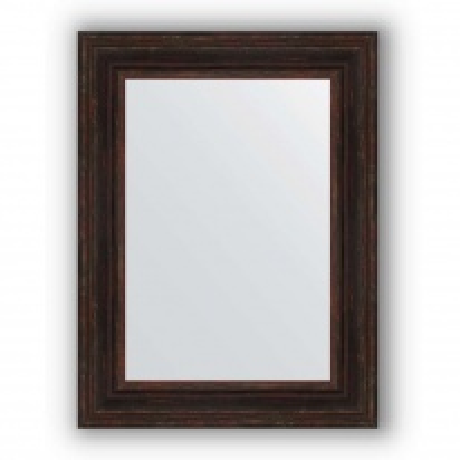 Зеркало в багетной раме Evoform Definite BY 3063 63 x 83 см, вензель бронзовый