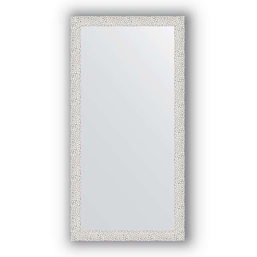 Зеркало в багетной раме Evoform Definite BY 3066 51 x 101 см, чеканка белая