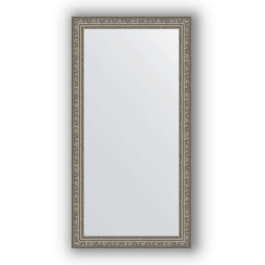 Зеркало в багетной раме Evoform Definite BY 3072 54 x 104 см, виньетка состаренное серебро