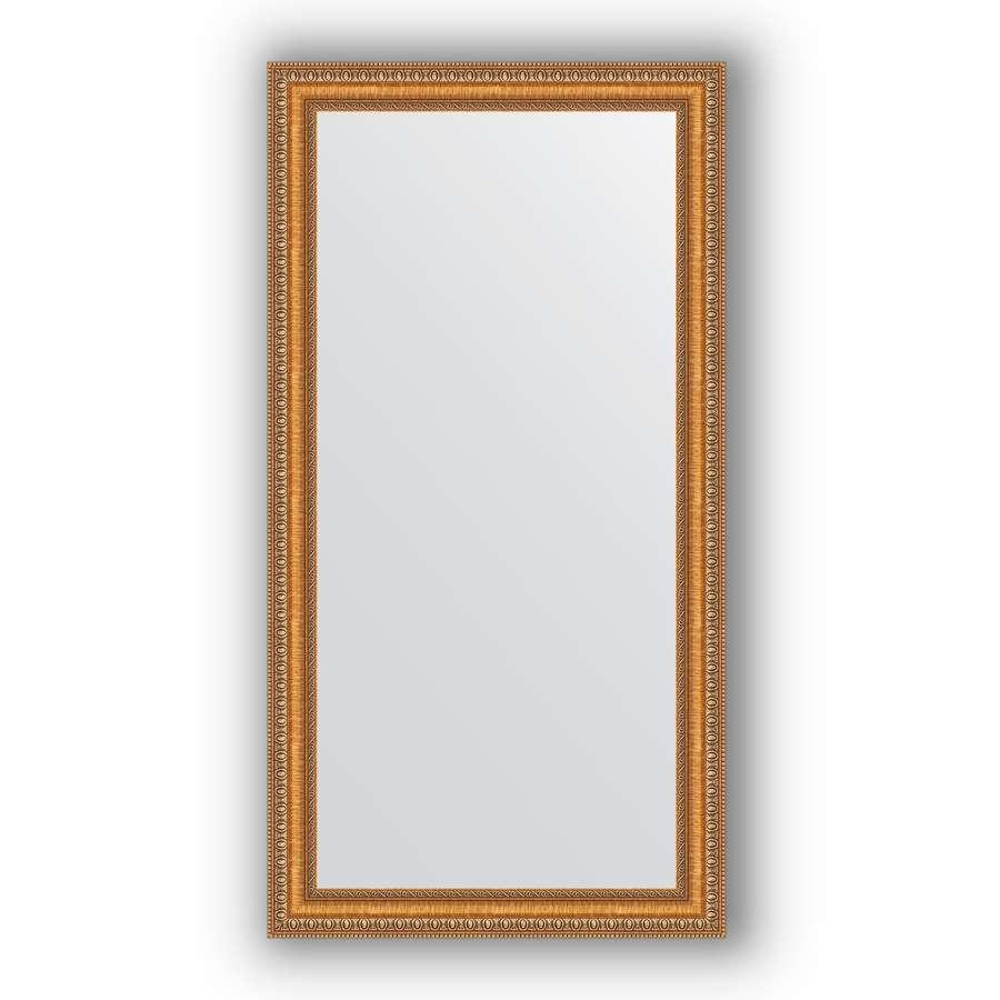Зеркало в багетной раме Evoform Definite BY 3074 55 x 105 см, золотые бусы на бронзе