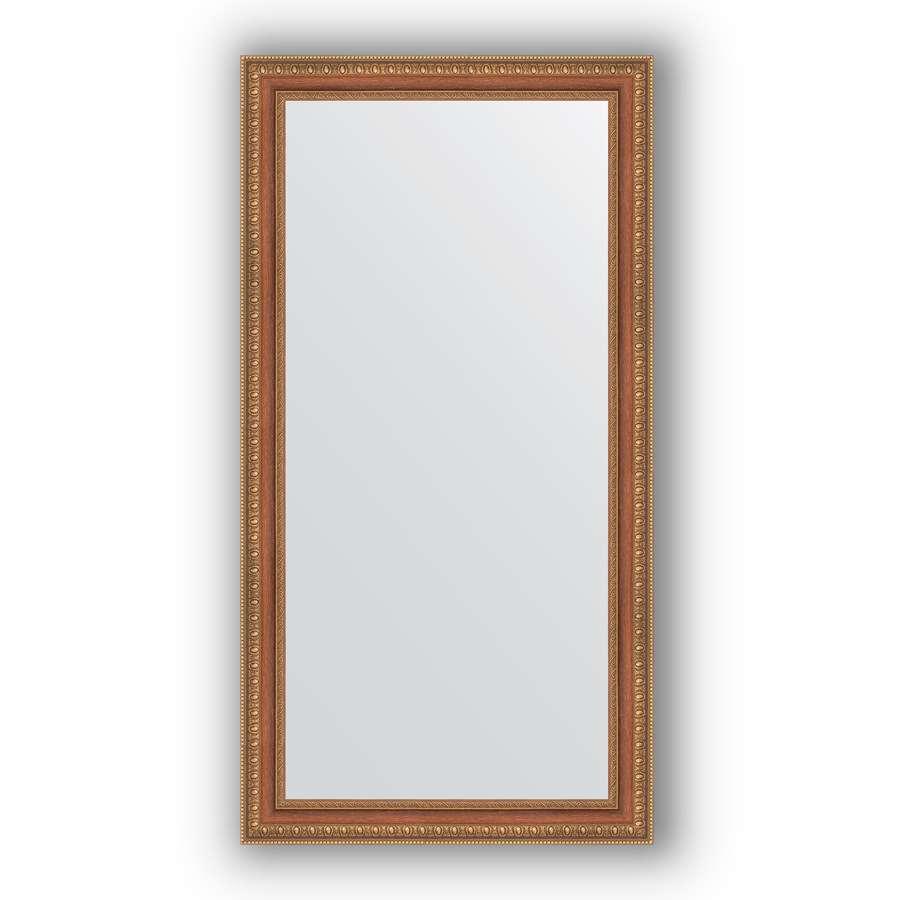 Зеркало в багетной раме Evoform Definite BY 3075 55 x 105 см, бронзовые бусы на дереве
