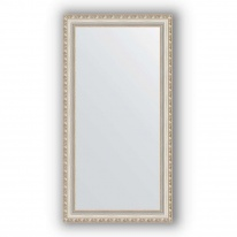 Зеркало в багетной раме Evoform Definite BY 3078 55 x 105 см, версаль серебро