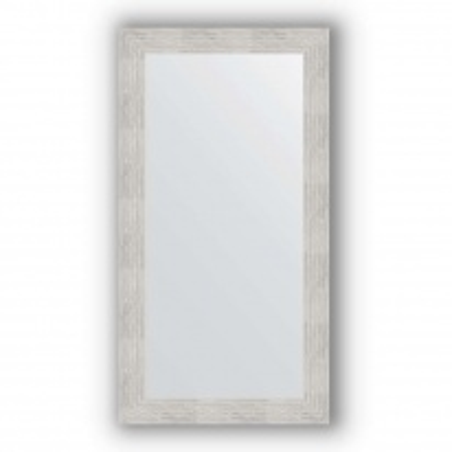 Зеркало в багетной раме Evoform Definite BY 3080 56 x 106 см, серебряный дождь