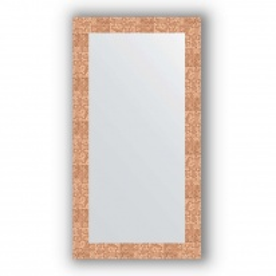 Зеркало в багетной раме Evoform Definite BY 3082 56 x 106 см, соты медь