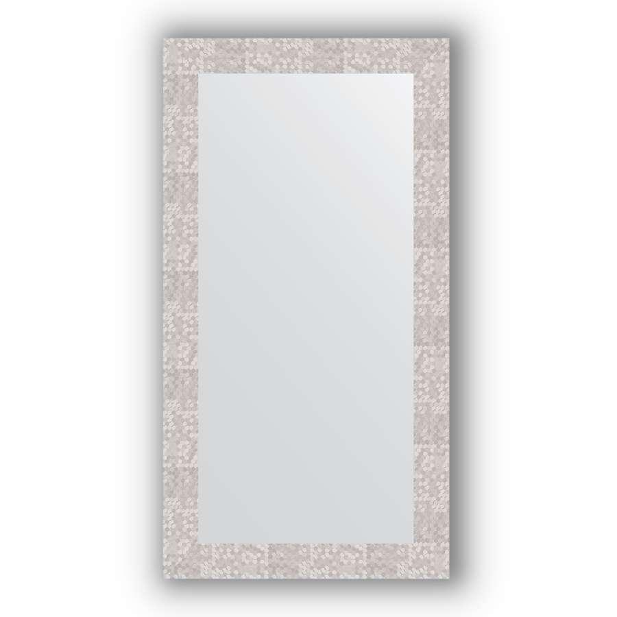Зеркало в багетной раме Evoform Definite BY 3083 56 x 106 см, соты алюминий