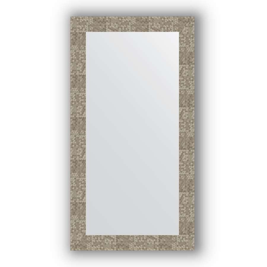 Зеркало в багетной раме Evoform Definite BY 3084 56 x 106 см, соты титан