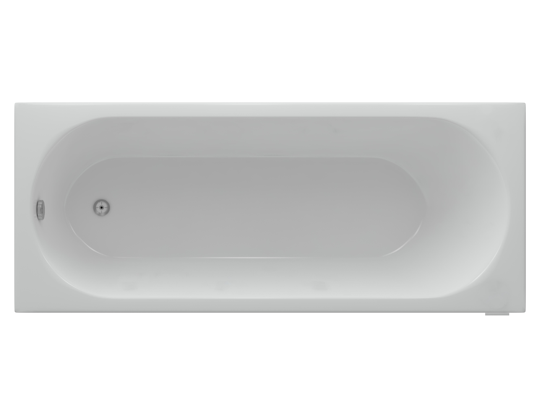 Гидромассажная ванна Акватек Оберон 180 х 80 см плоские бронзовые форсунки
