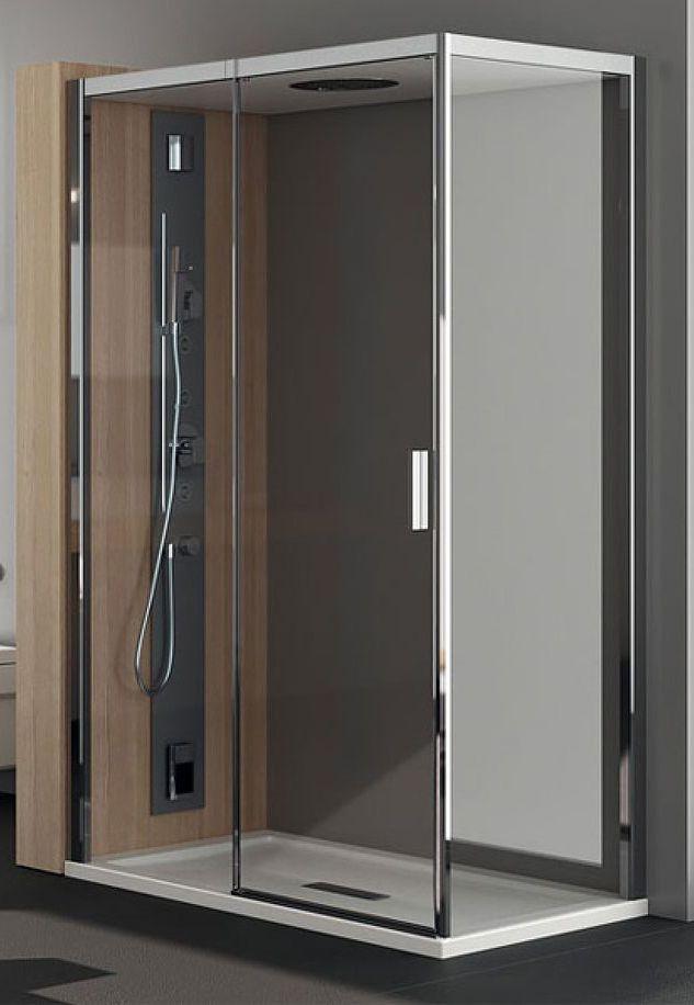Душевой уголок Teuco Chapeau NC 8F 120x80 см, дверь раздвижная, угловой вариант