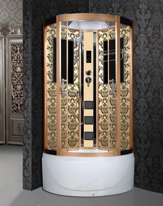 Душевая кабина Niagara 7710G золото (Lux)