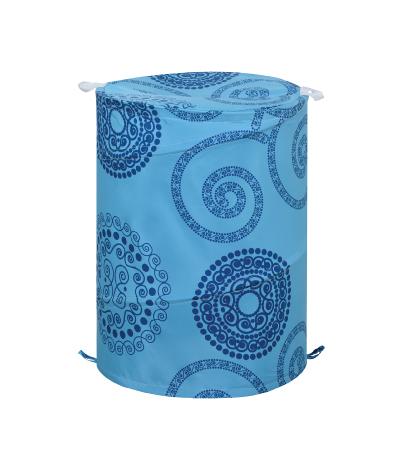 Корзина для белья Lemark Infinite blue B4255T028, 42 х 55 см