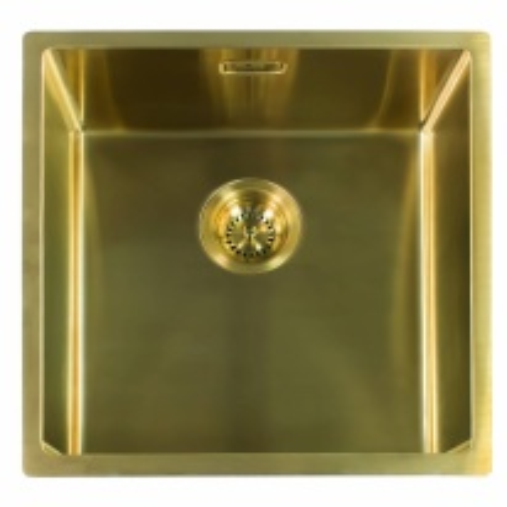 Мойка кухонная Reginox Miami 40 x 40 см Gold 3,5 R30714 PVD сталь