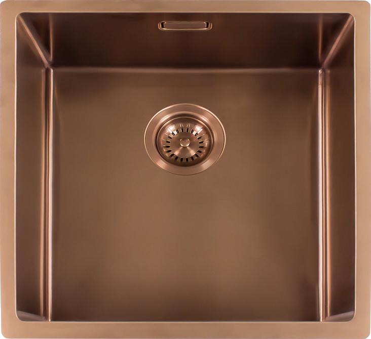Мойка кухонная Reginox Miami 50 x 40 см Cooper 3,5 R30738 PVD сталь