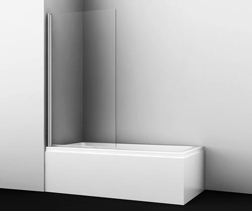 Стеклянная шторка WasserKraft Berkel 48P01-80 для душа, распашная, одностворчатая