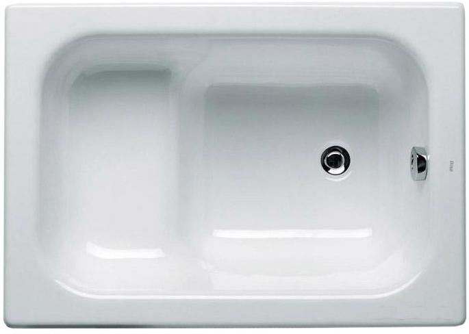 Ванна сидячая чугунная Roca Banaseo 213000 100x70 см без ручек