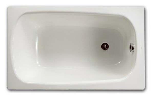 Ванна чугунная Roca Continental, 211507, 100*70 см, без ручек
