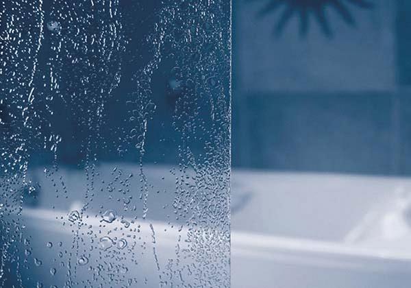 Шторка на ванну Ravak AVDP3-170 алюминиевый профиль, пластик Rain
