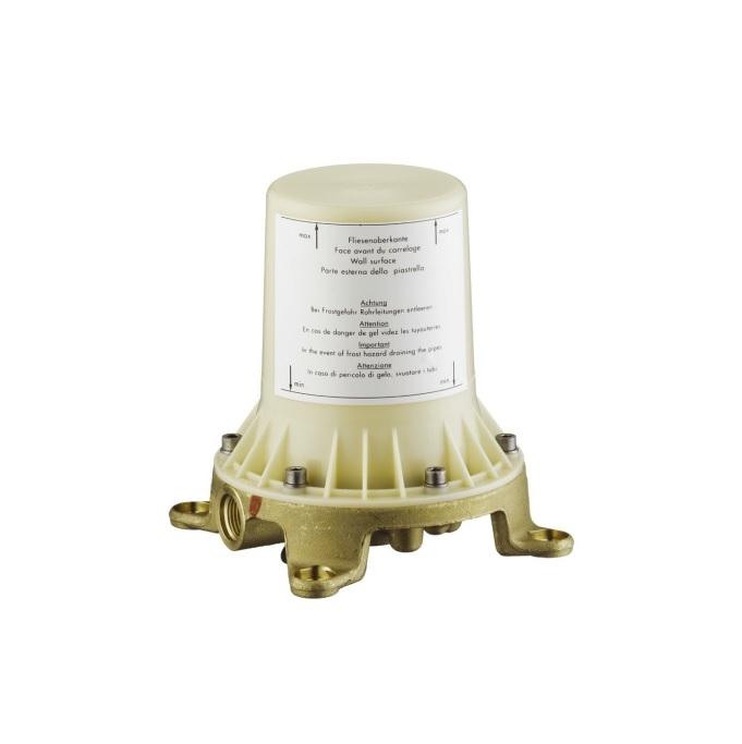 Скрытая часть смесителя для ванны Axor 10452180, напольный