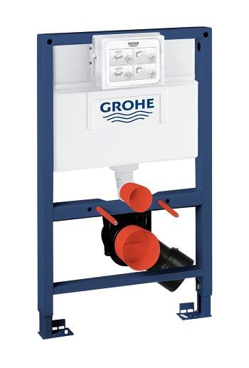Монтажный блок Grohe Rapid SL 38526 для унитаза, высота 0.82 м