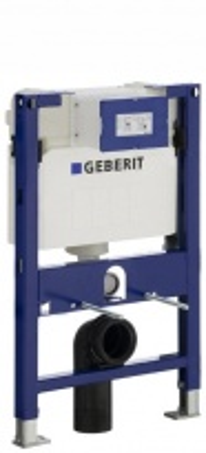 Монтажный элемент Geberit Duofix UP200 111.240.00.1 для унитаза, высота 82 см, с фронтальным или горизонтальным управлением