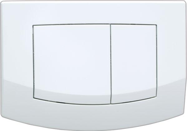 Панель Tece Ambia 9 240 240 с двумя клавишами смыва белая