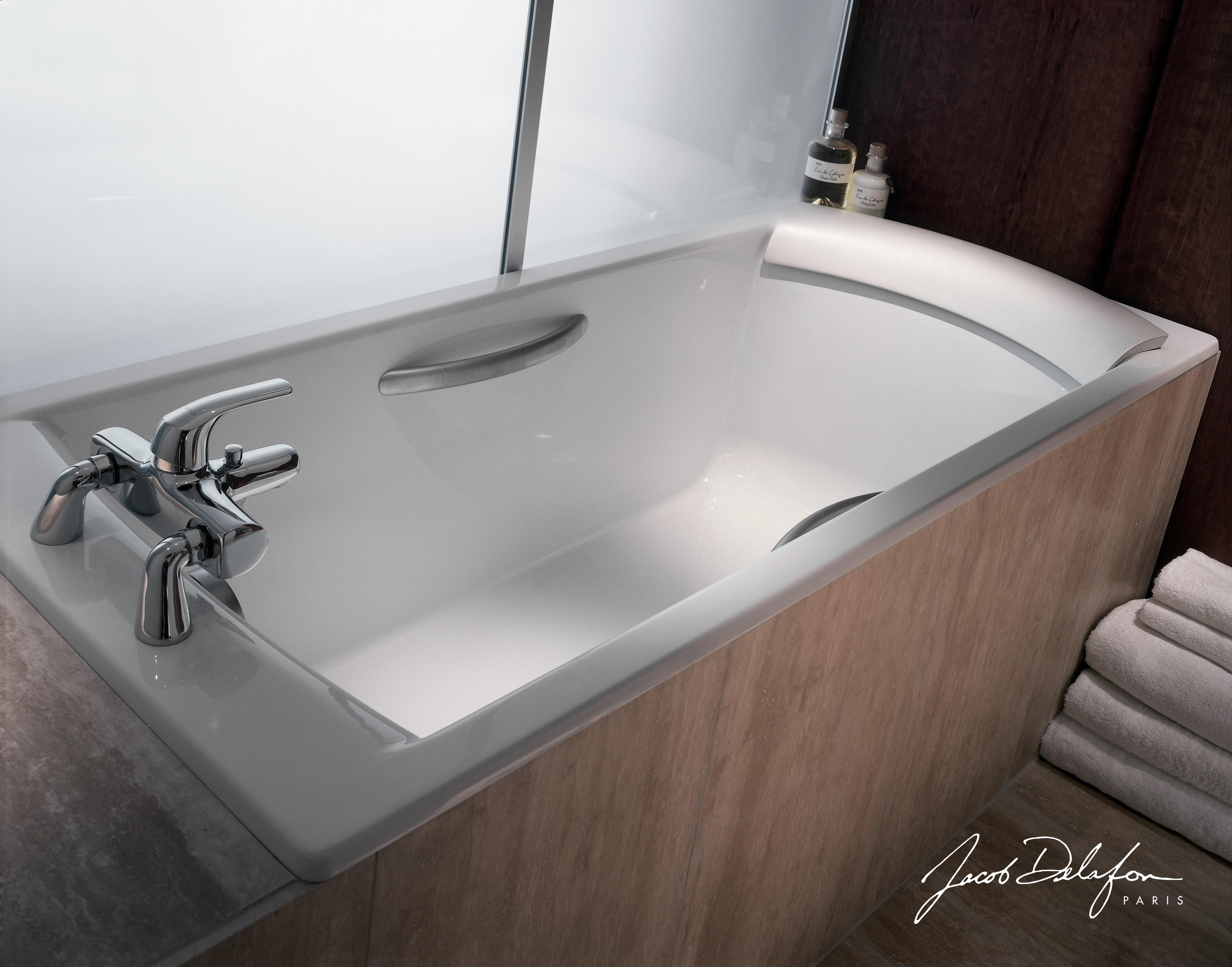 Чугунная ванна Jacob Delafon Biove E2930-00, 170*75 см, без ручек