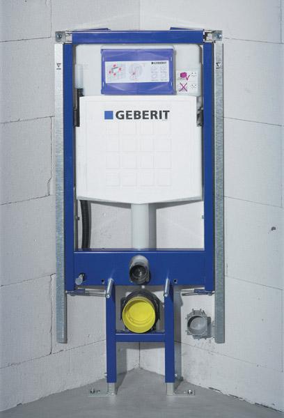 Инсталляция Geberit Duofix UP320 111.390.00.5 для унитаза, угловая