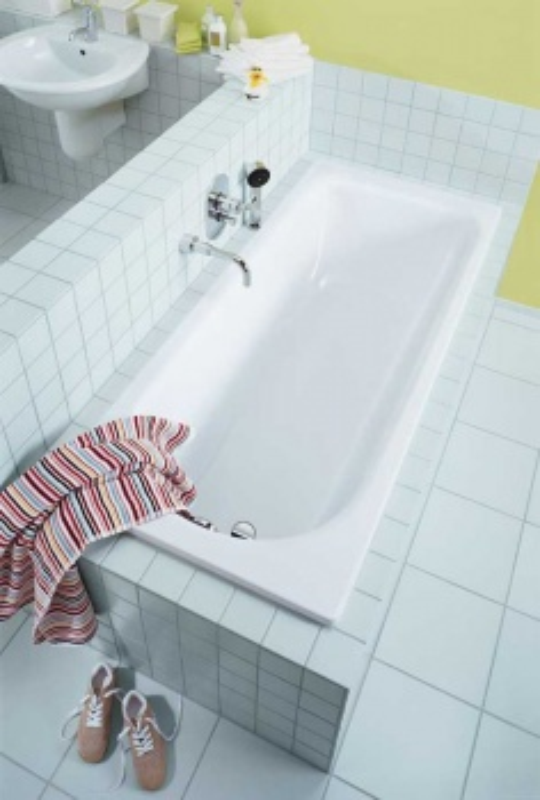 Стальная ванна Kaldewei Saniform Plus 371-1 1129.0001.0001, 170*73*41 см