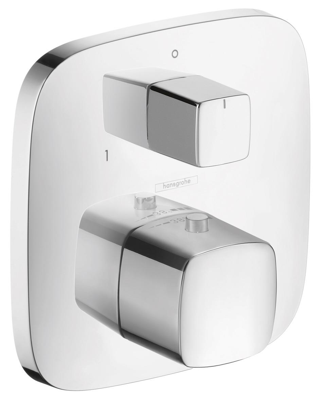 Смеситель Hansgrohe PuraVida 15771000 термостатический для ванны и душа, хром, внешняя часть