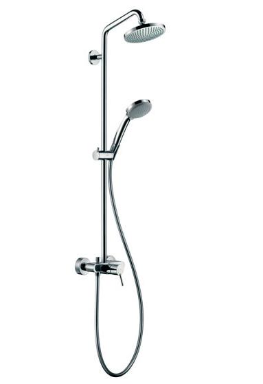 Душевая система Hansgrohe Croma 100 Showerpipe 160 27154000 для душа, Ø 160 мм