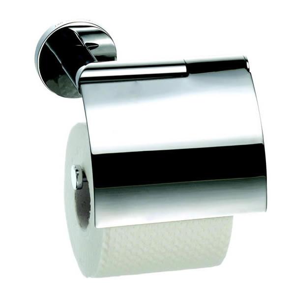 Держатель туалетной бумаги с крышкой Geesa Circles 6008-02