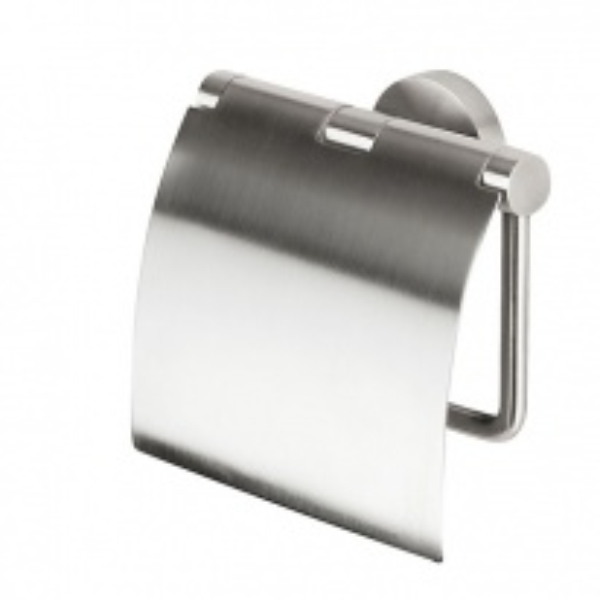 Держатель туалетной бумаги с крышкой Geesa Nemox Stainless Steel 6508-05