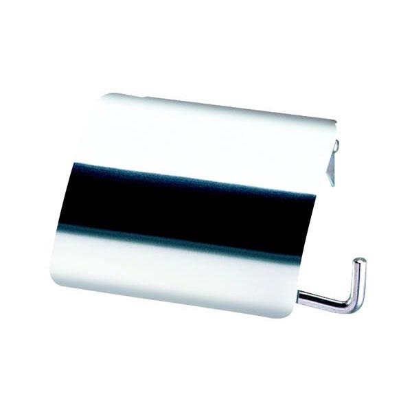 Держатель туалетной бумаги с крышкой Geesa Standard Hotel 145